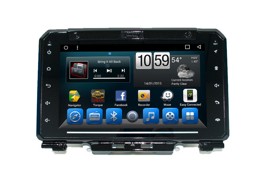 In - Dash SUZUKI Navigator Android 7.1 / 8.1 Supporting  Bluetooth Calls / Music